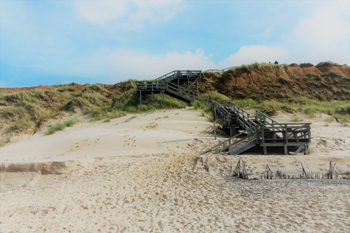 Hommage an Sylt- Strand-Treppe