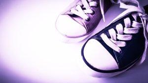 Verschiedene Paar Schuhe